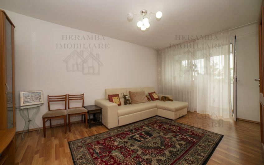 Apartament 3 camere, zona Dna Ghica, etaj 3/8,bloc reabilitat,decomandat,amenajat modern,mobilat si utilat